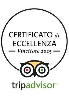 Locanda Nemorosa - Tripadvisor - Certificato di Eccellenza 2015