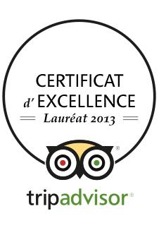 Locanda Nemorosa - TripAdvisor - Certificat d'excellence - 2013