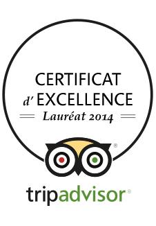 Locanda Nemorosa - TripAdvisor - Certificat d'excellence - 2014