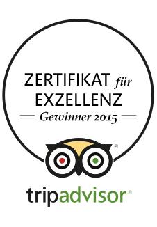 Locanda Nemorosa - TripAdvisor - Zertifikat für Exzellenz - 2015