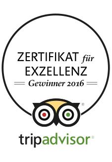 Locanda Nemorosa - TripAdvisor - Zertifikat für Exzellenz - 2016